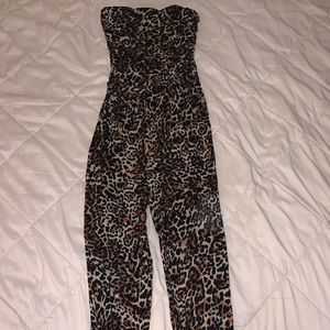 Leopard Animal Print Jumpsuit